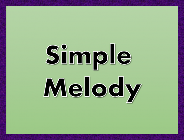 simplemelody