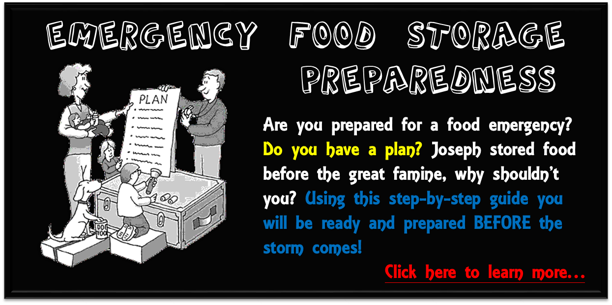 Emergency Food Storage Preparedness