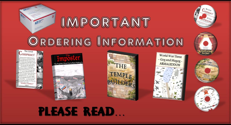 Important Order Information