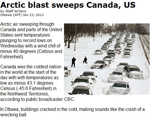 http://www.terradaily.com/reports/Arctic_blast_sweeps_Canada_US_999.html