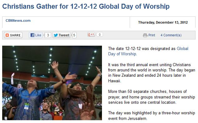 http://www.cbn.com/cbnnews/world/2012/December/Christians-Gather-for-12-12-12-Global-Day-of-Worship/