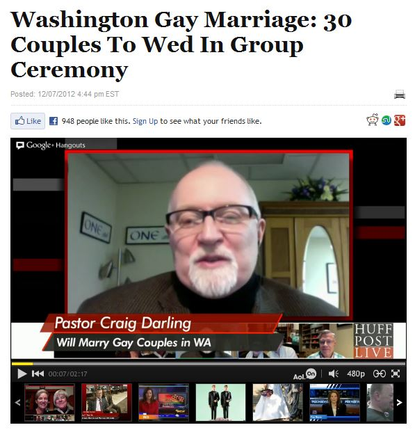 watch and read here: http://www.huffingtonpost.com/2012/12/07/washington-gay-marriage_n_2259240.html
