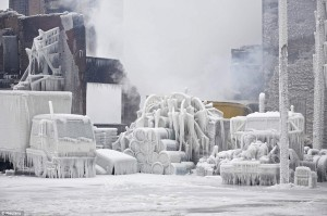 http://www.dailymail.co.uk/news/article-2266922/Chicago-warehouse-turns-ice-firefighters-water-freezes-Midwest-experiences-day-4-cold-snap.html#axzz2Jl8hwixK