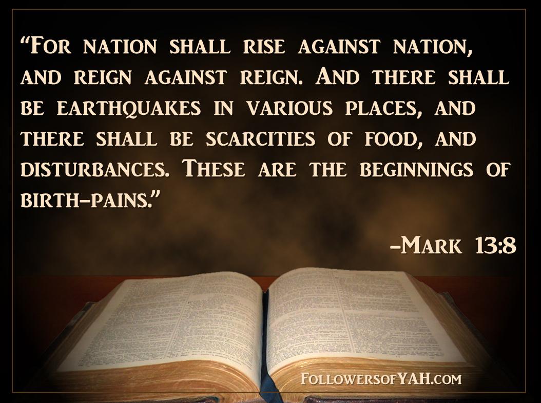 Mark 13:8